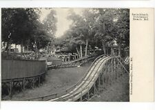 Switchback Miniature Railway Railroad TOLCHESTER BEACH MD Vintage Postcard 2