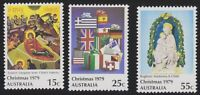 Australia Post - Design Set - MNH - Decimal - Christmas 1979
