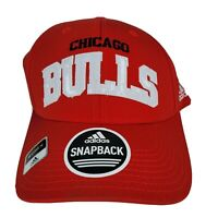 Chicago Bulls Adidas Flashy Snapback Hat Womens Adjustable Red