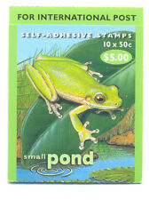 Australia-Frogs-pond life booklet complete mnh-Frogs