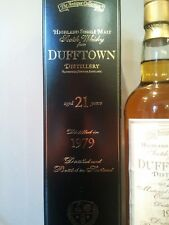 Whisky DUFFTOWN 21 ans / years Highland Single Malt 1979 / (Moray) Scotland