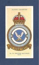 RAF No 151 SQUADRON BADGE 1916  Faith for Duty  OWL BADGE 1937 original card