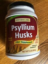 Fitness Labs Psyllium Husk Powder 2 lbs Unflavored Unsweetened 267 servings