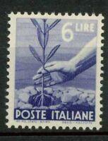 Italien Republik 1945 Sass. 556 Postfrisch 100% Demokratischen