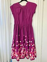 Girls Lands End dots Twirl A-line Dress 16