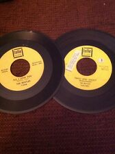 The Beatles 2 Original Tollie 45's P.S. I Love You And Twist And Shout