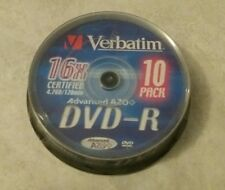 Torretta 10 DVD-R 16x Vergini Verbatim Advanced AZO+