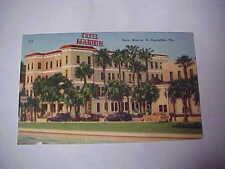 Vintage Postcard Hotel Marion St. Augustine, Florida  FREE SHIPPING