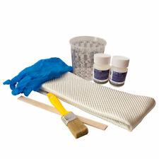 kleines Epoxi Reparaturset Epoxidharz mit Härter Glasfilamentgewebe und Zubehör