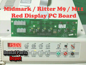 Midmark M9 and M11 Replacement Display PC Board (Red Display) (RPI #MIB115)