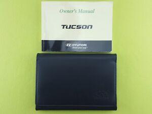 HYUNDAI TUCSON (2004 - 2009) Owners Manual / Handbook + Case / Wallet