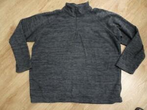 MOUNTAIN WAREHOUSE mens grey marl fleece jumper XXXXL EXCELLENT COND