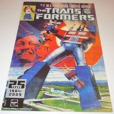 Transformers #1 25th Anniversary Comic REPRINT Marvel Hasbro PROMO 2009 Figure