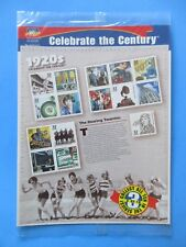New Celebrate the Century 1920s Stamps Sheet USPS The Roaring Twenties #5541