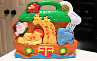 Baby Toddler Learning Toy Noah's Ark Battery Operated Sounds & Music Navystar