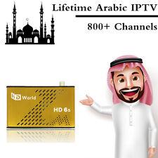 Lifetime Arabic IPTV HDWorld Channels DVB-S2 Satellite Receiver