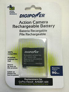 DigiPower Rechargeable battery for GoPro HERO4
