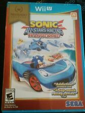 Sonic & All-Stars Racing Transformed NINTENDO Select  Wii-U New