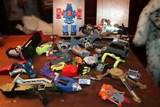 Lot of Vintage Robot Transformers Power Rangers Etc Parts Unknown