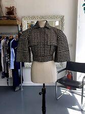 ALEXANDER MCQUEEN Couture Mainline S/s 2014 Futuristic Laser Cut  Jacket