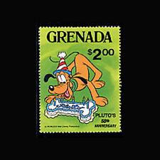 Grenada, Sc #1031, Mnh, 1981, Cpl. set, Disney, Di231*F