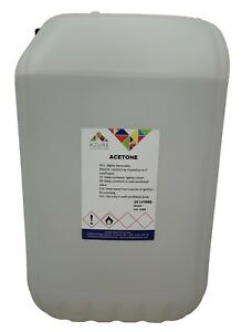 Azure Acetone Organic Compound Solvent Cleaning Purposes - 25L