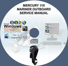 Mercury 115 US 115 EU Four Stroke EFI Mariner Outboard Service Repair Manual