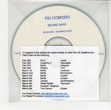 (GO240) Fei Comodo, Behind Bars - 2009 DJ CD