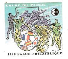 BLOC CNEP N° 26 SALON  PARIS 1998 COUPE DU MONDE FOOTBALL