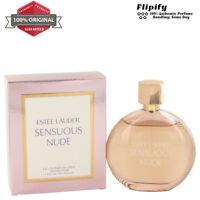 Sensuous Nude Perfume 3.4 1.7 oz EDP Spray for Women by Estee Lauder Gift Set