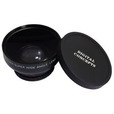 Black 0.45x 46mm Wide Angle + Macro Conversion Lens  62mm Front Thread