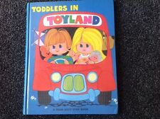 TODDLERS IN TOYLAND -  Dean & Sons, 1975 Vintage Childrens book Hardcover