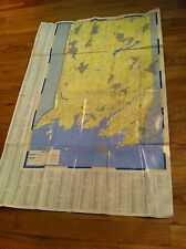 Vintage Distressed Greenwich Connecticut Map & Business Directory Homestead Inn