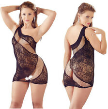 Christmas Women Sexy Lingerie Mini Chemise Dress Transparent Seamless Lace Mandy