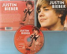 Justin Bieber-cd-story of a teen Star-biografia-CD di 2011-come nuovo!