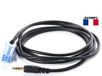 Cable auxiliaire mp3 autoradio jack pour SMART ROADSTER 8PIN ipod iphone