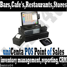 POS software Retail Restaurant Point of Sale Cash Register for Touch Screen New