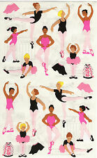 Mrs. Grossman's Giant Stickers - Ballet - Ballerinas, Dance, Toe Shoe - 2 Strips