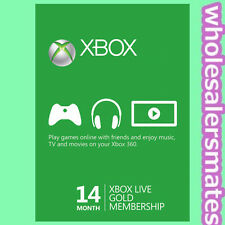 Xbox ONE 360 Live 12 + 2 = 14 Monate Month Gold Mitgliedschaft Karte Card Code