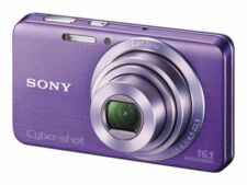 Sony Cyber-shot DSC-W630 16.1MP Digital Camera - Violet