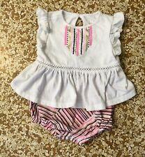 Cat & Jack Baby Girl Sunsuit Bodysuit Creeper 3-6 Months