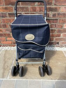 Sholley - Folding Shopping Trolley & Aid for walking (Mulberry) Genuine -postage