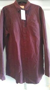 NWT Frank & Oak Ave St-Viateur Cotton Shirt. Size L