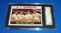 1964 Topps A.L. Bombers Mantle Maris Cash Kaline Card #331 SGC 4.5