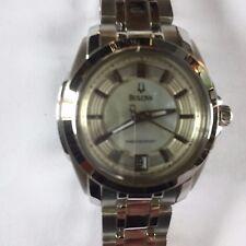 Bulova 96M108 Precisionist Women's Longwood Classic Watch MOP Face