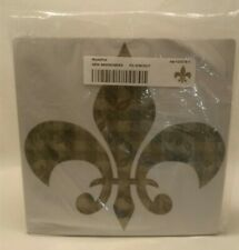 """☆ NEW COMPUTER MOUSE PAD SAINTS NEW ORLEANS 8""""×8"""" FREE SHIPPING"""