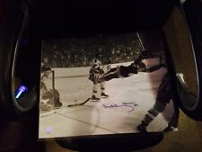 Bruins Bobby Orr Autographed 16x20 Photo Great Northern Coa and Holo Famous Goal