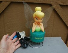 Tinker Bell Disney Princess Fairy Plastic Table Desk Lamp Light Child Room 2007