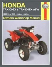 Honda TRX300EX & TRX400EX ATVs '93'99 (Haynes Owners Workshop Manual Series), Ch