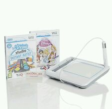 Wii Udraw Tablet +2 Nuevo Sellado U Dibujar Juegos = Studio/Disney Princesa-Doodles + Sketch